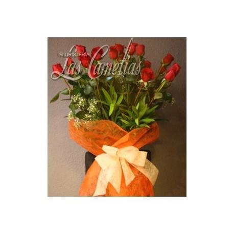 Flores en jarrones
