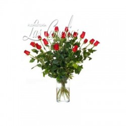 18 Rosas (tallo largo)