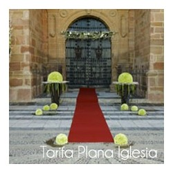 Tarifa plana iglesia