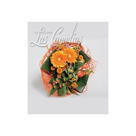 MINI BOUQUET ORANGE